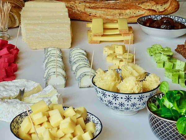 Bar à fromages cocktails apéritifs